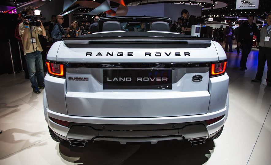 2017 Range Rover Evoque convertible - Slide 6