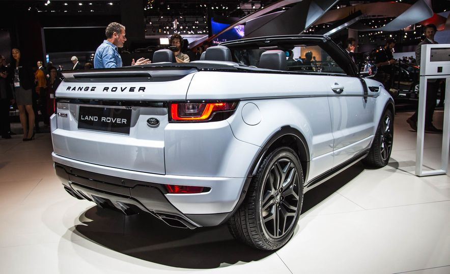 2017 Range Rover Evoque convertible - Slide 7
