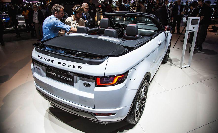 2017 Range Rover Evoque convertible - Slide 8