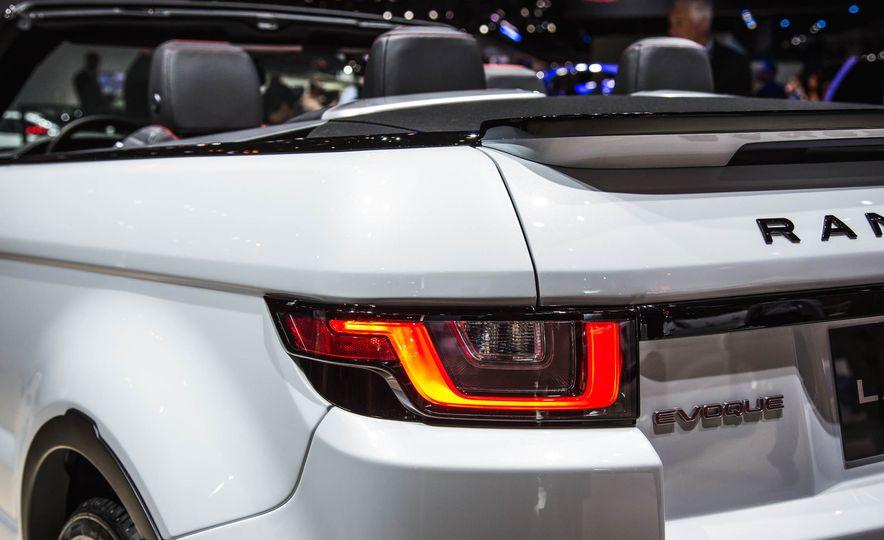 2017 Range Rover Evoque convertible - Slide 9