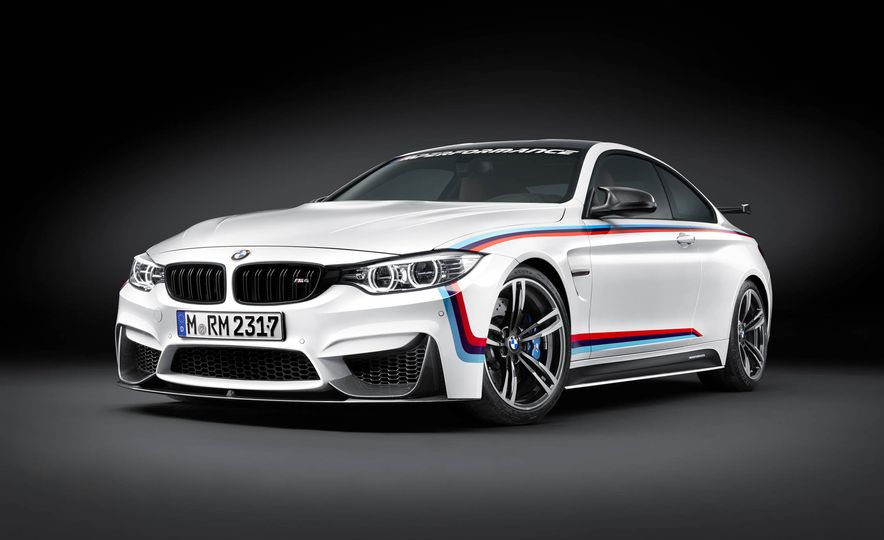 BMW M4 coupe with M performance parts - Slide 8