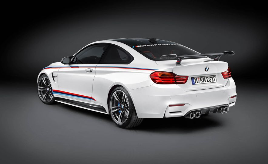 BMW M4 coupe with M performance parts - Slide 10