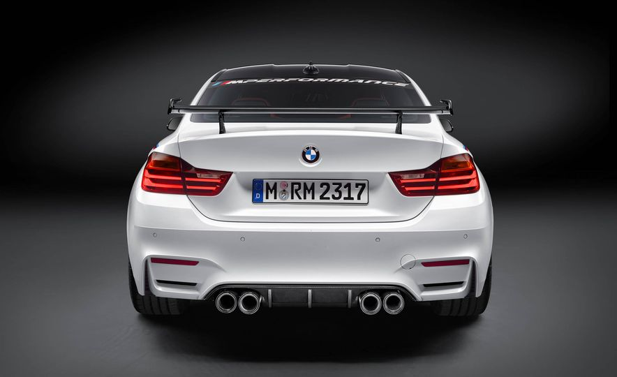 BMW M4 coupe with M performance parts - Slide 11