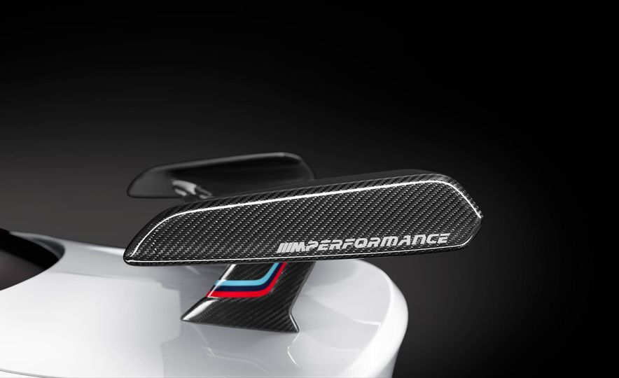 BMW M4 coupe with M performance parts - Slide 16