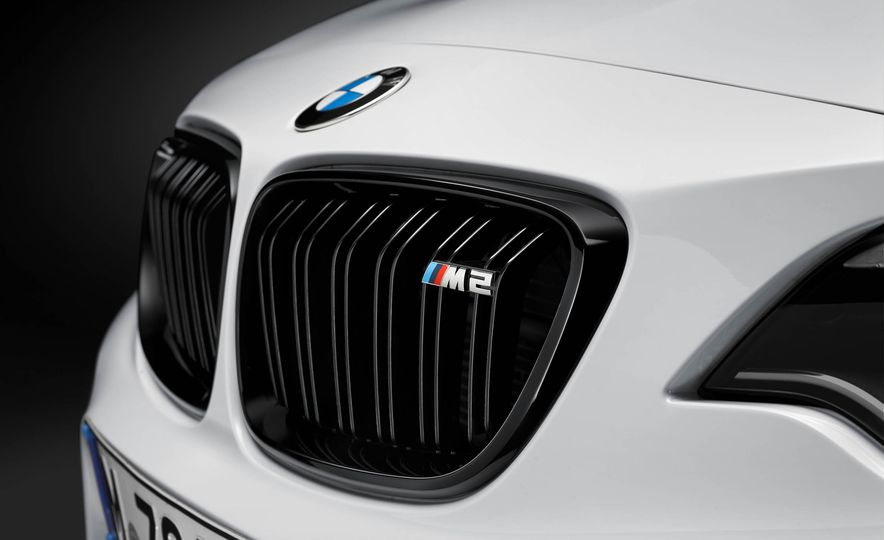 BMW M4 coupe with M performance parts - Slide 18