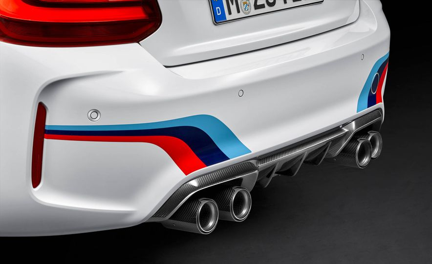 BMW M4 coupe with M performance parts - Slide 23