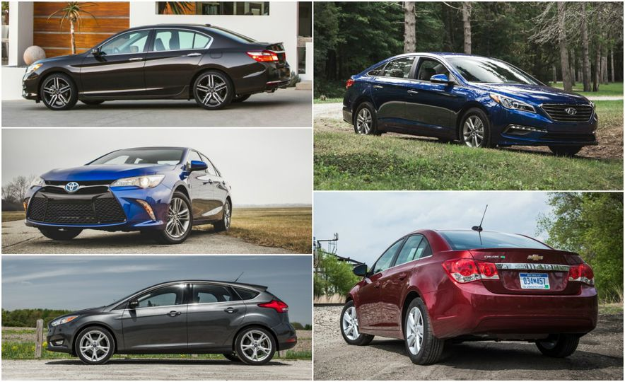 10 Most Cars: Here Are the Bestselling Cars in America for 2015 - Slide 1