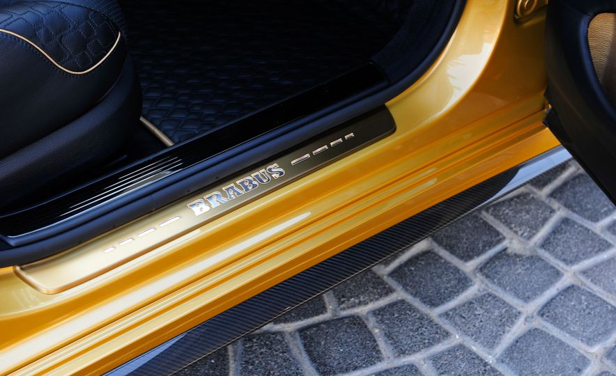 Brabus Rocket 900 Desert Gold Edition - Slide 40