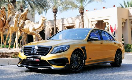 Brabus Rocket 900 Desert Gold Edition: An 888-hp, 885-lb-ft S-class Sedan