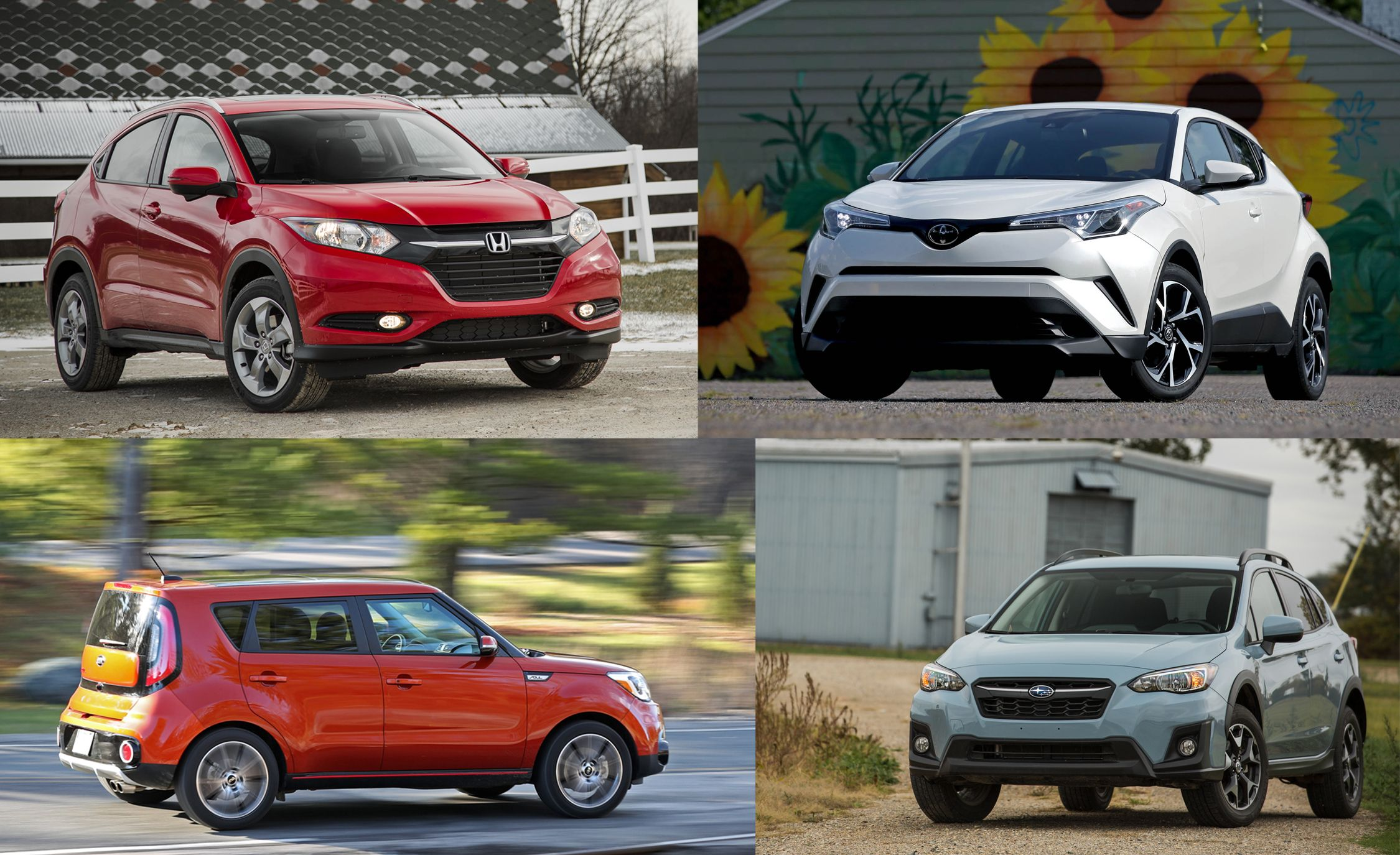 every subcompact crossover suv ranked from worst to best flipbook rh caranddriver com Winner Banner We Have a Winner