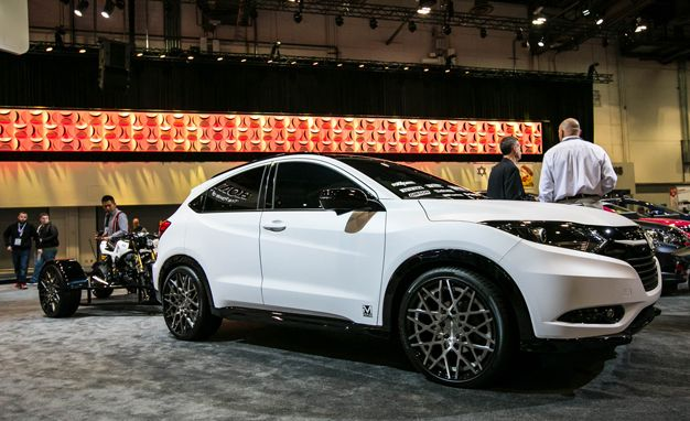 Honda HR-V Fox Marketing concept Pictures   Photo Gallery