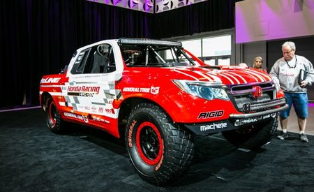 Baja! Got You All in Check: Honda Shows Baja-Racing Ridgeline at SEMA