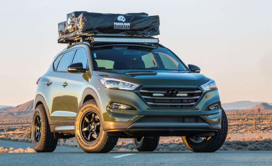 Hyundai Tucson JP Adventuremobile concept - Slide 5