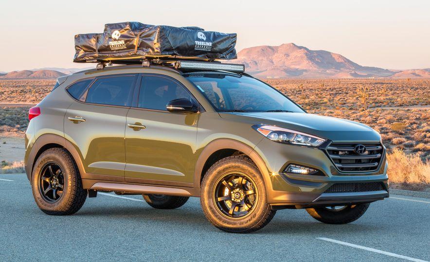 Hyundai Tucson JP Adventuremobile concept - Slide 6