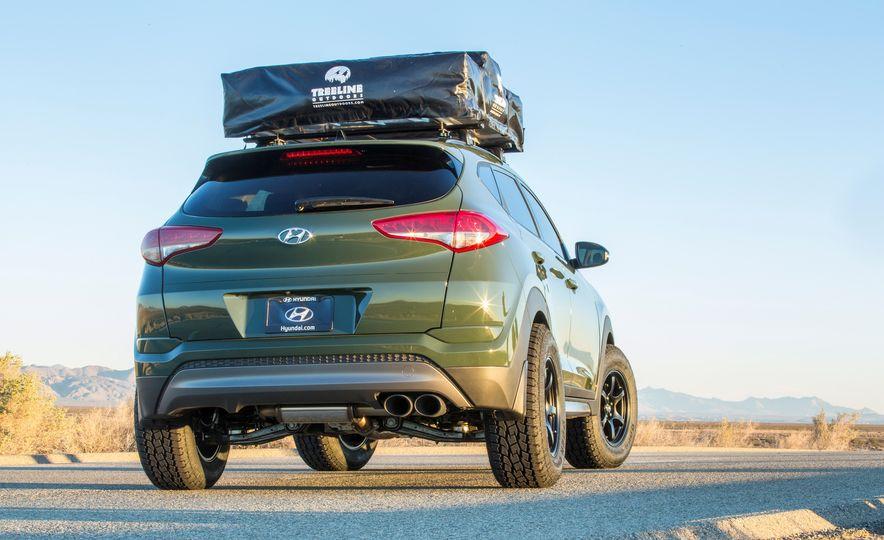 Hyundai Tucson JP Adventuremobile concept - Slide 7