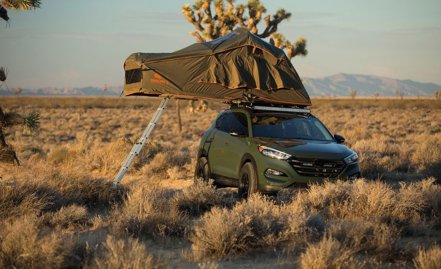 Hyundai Tucson JP Adventuremobile concept - Slide 9