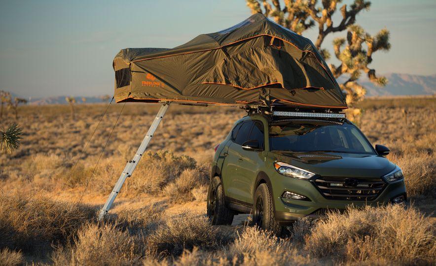 Hyundai Tucson JP Adventuremobile concept - Slide 10