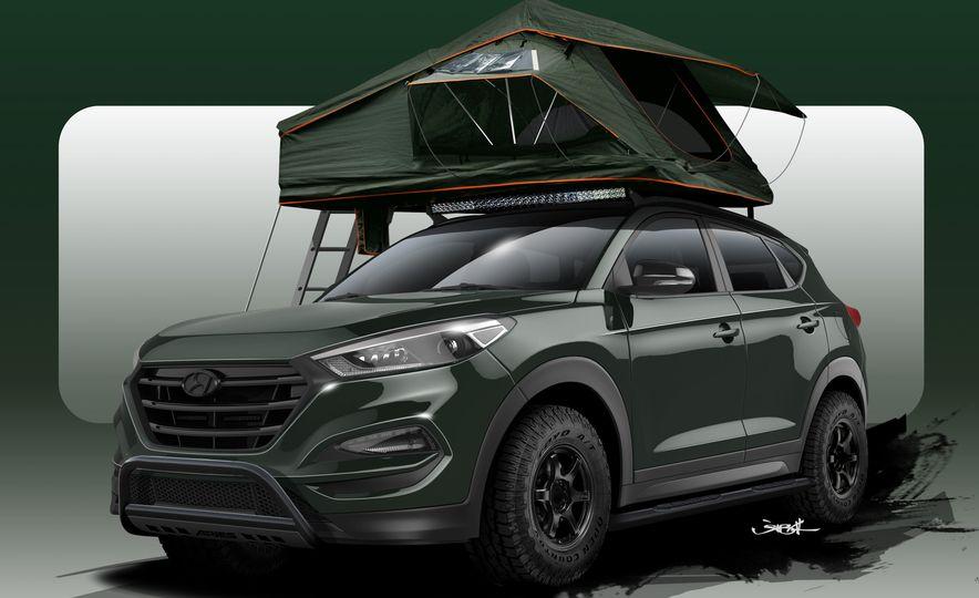 Hyundai Tucson JP Adventuremobile concept - Slide 14