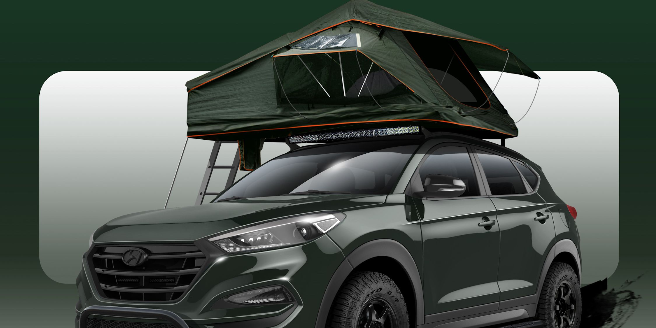 """Adventure Time: The Hyundai Tucson """"Adventuremobile"""" Is a Rad Way to Get Away from It All"""