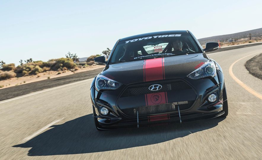 Hyundai Veloster Turbo Blood Type Racing concept - Slide 5