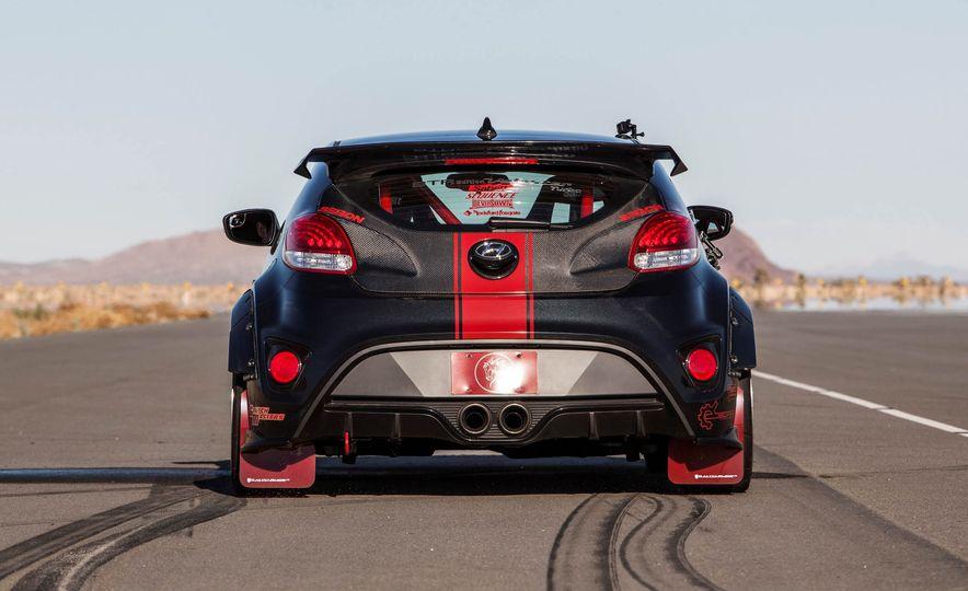 Hyundai Veloster Turbo Blood Type Racing concept - Slide 7