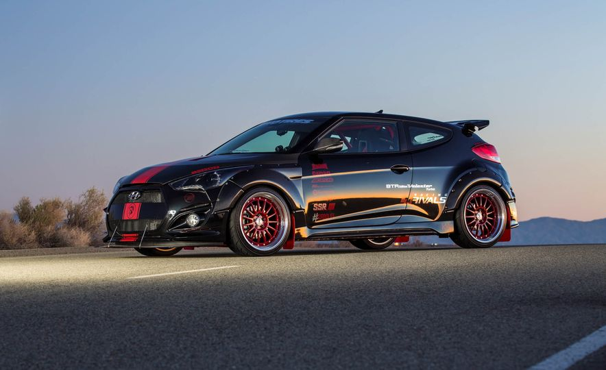 Hyundai Veloster Turbo Blood Type Racing concept - Slide 8