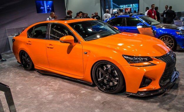 Orange You Rad: Hotted-Up Lexus GS F and RC F Go Full Orange