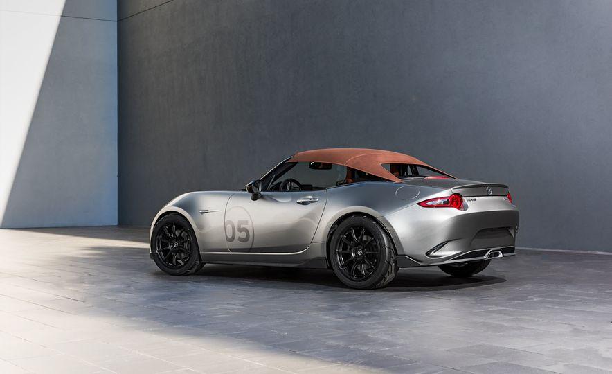 Mazda Miata Spyder concept and Mazda Miata Speedster concept - Slide 14