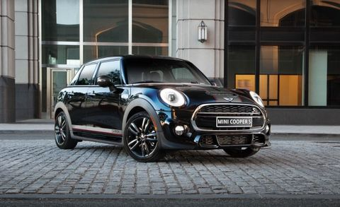 mini announces carbon edition news car and driver. Black Bedroom Furniture Sets. Home Design Ideas