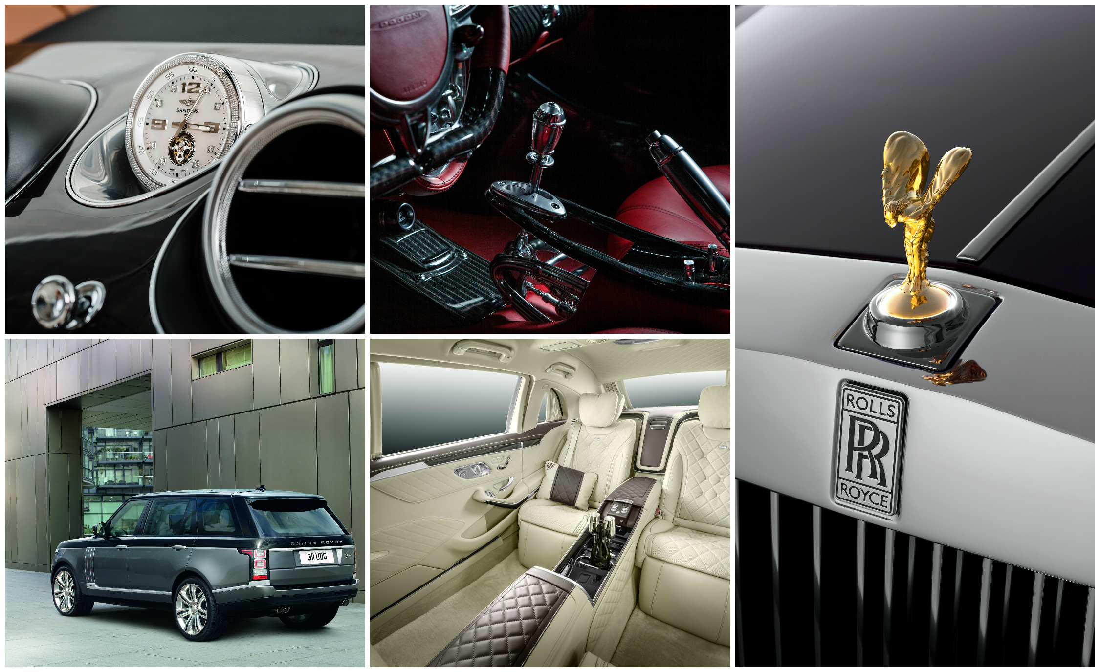15 of the Most Indulgent Vehicle Options