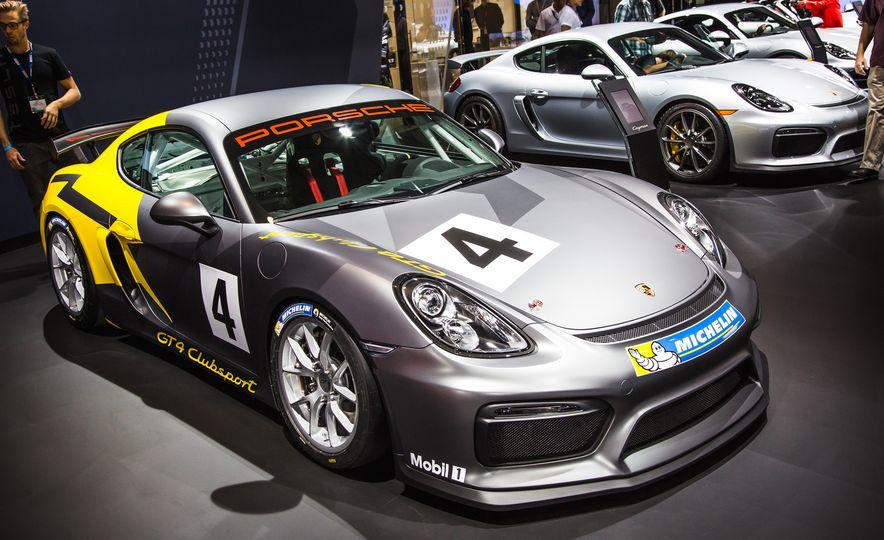 Porsche Cayman GT4 Clubsport - Slide 1