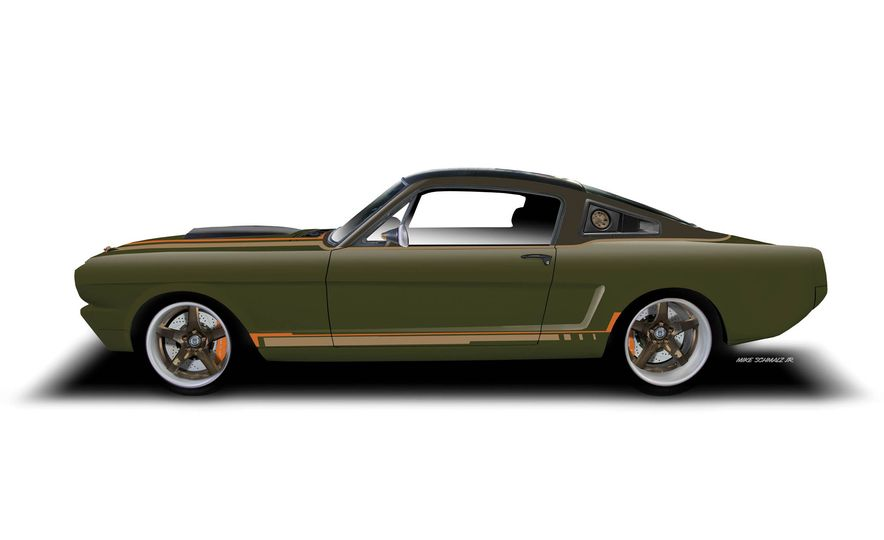 Ringbrothers 1965 Ford Mustang Espionage - Slide 26