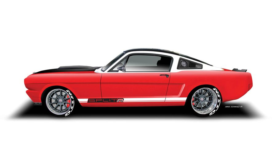 Ringbrothers 1965 Ford Mustang Espionage - Slide 27