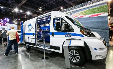 SEMA 2015: ProMaster, ProMaster, Where's the Van to Tow My Dragster?