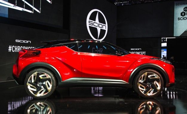 Toyotas CHR To Debut In Production Form Next Month At Detroit Auto - Next auto show