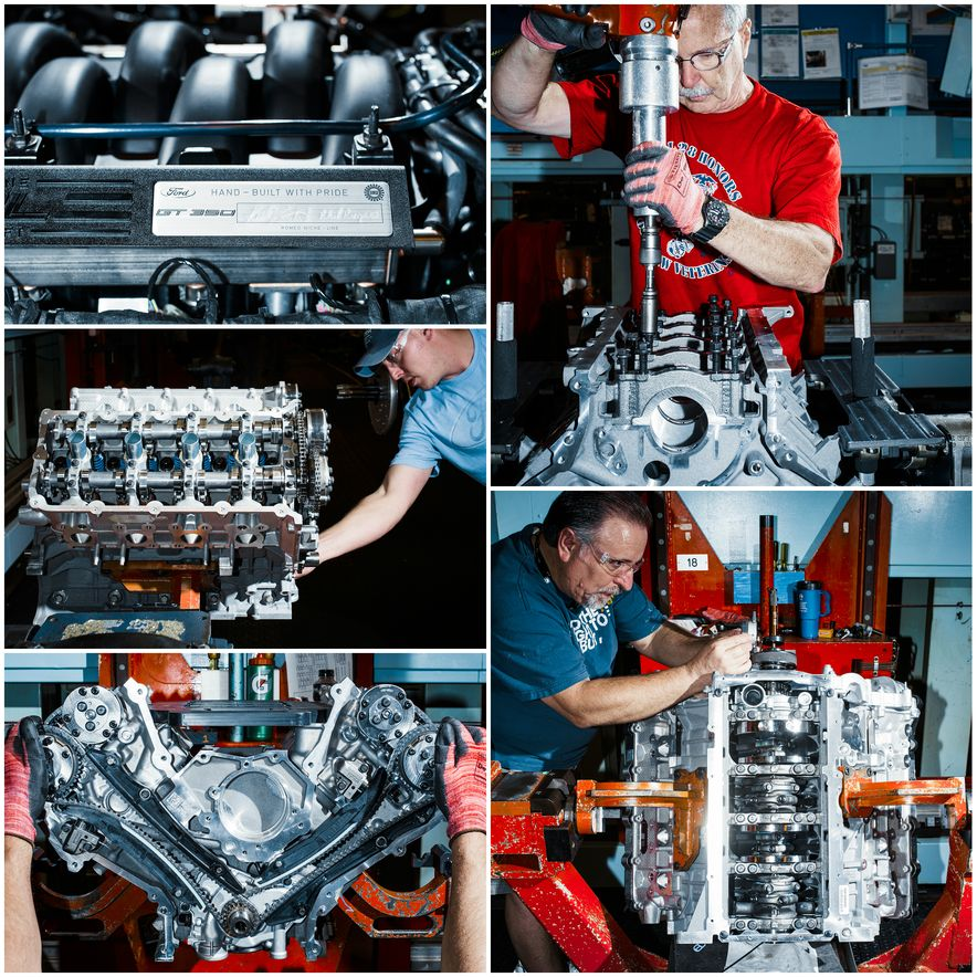 The Voodoo That They Do: Building the Ford Mustang Shelby GT350's Engine - Slide 1