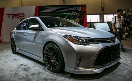 Look What Happened to Grandpa: SEMA Edition TRD Toyota Avalon