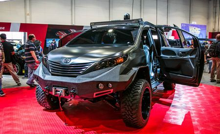 How Toyota Turned a Sienna into the World's Most Bad-Ass Minivan