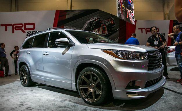 Toyota Highlander TRD concept Photo Gallery
