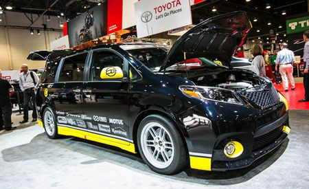 Toyota Strafes the Streets of Willow with Sienna R-Tuned Concept
