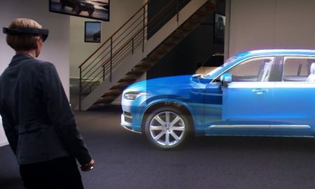 Virtual Volvo Reality: Life-Size Hologram Displays at Your Local Volvo Dealer