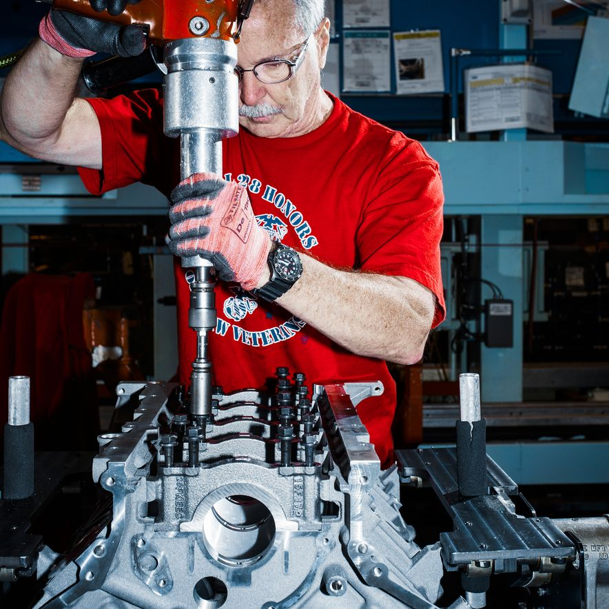 The Voodoo That They Do: Building the Ford Mustang Shelby GT350's Engine - Slide 2