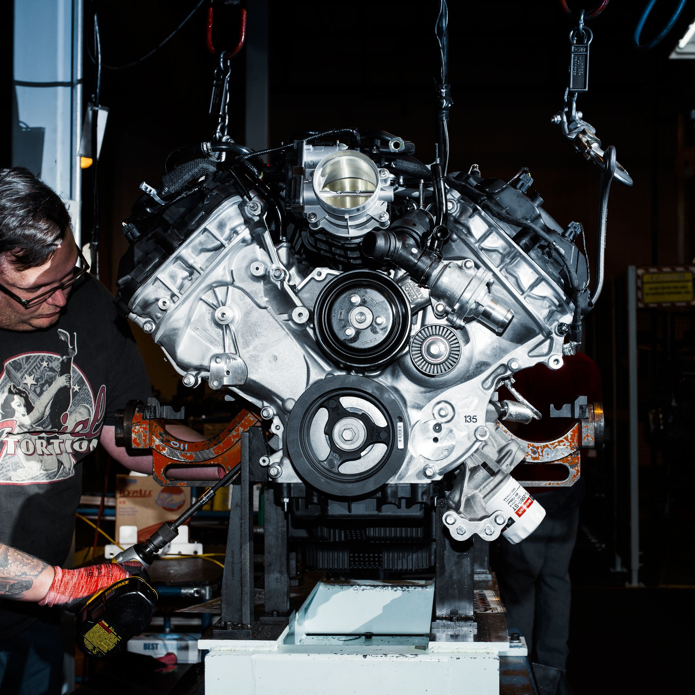 The Voodoo That They Do: Building the Ford Mustang Shelby GT350\'s Engine