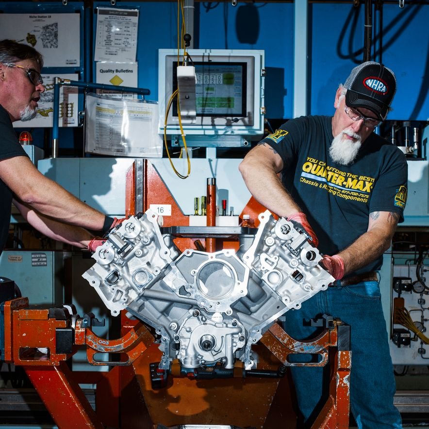 The Voodoo That They Do: Building the Ford Mustang Shelby GT350's Engine - Slide 4
