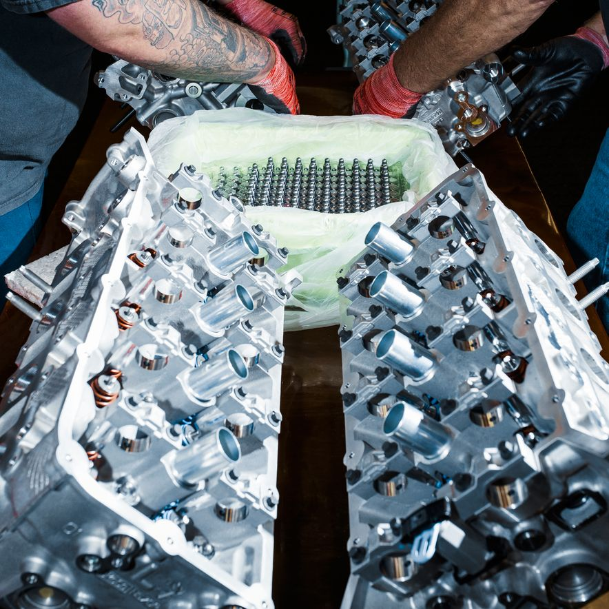 The Voodoo That They Do: Building the Ford Mustang Shelby GT350's Engine - Slide 5