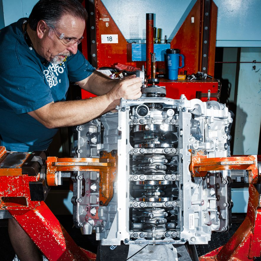 The Voodoo That They Do: Building the Ford Mustang Shelby GT350's Engine - Slide 8