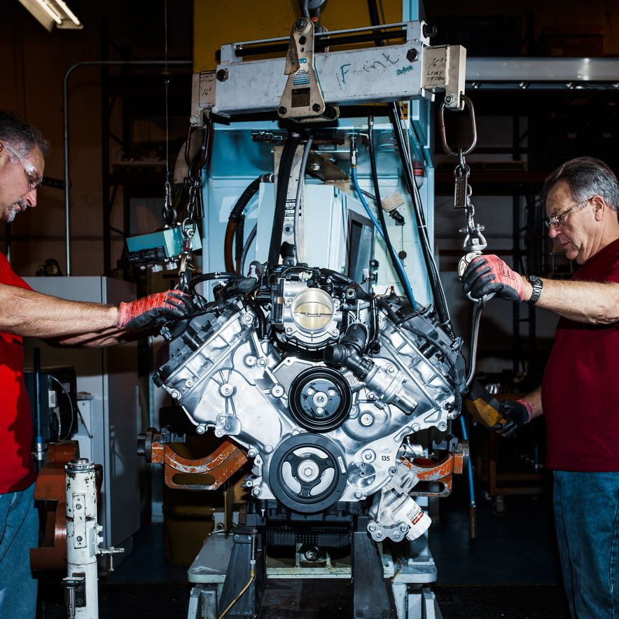 The Voodoo That They Do: Building the Ford Mustang Shelby GT350's Engine - Slide 9