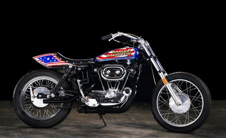 Evel Knievel's 1976 Harley Sportster Is Headed to Auction