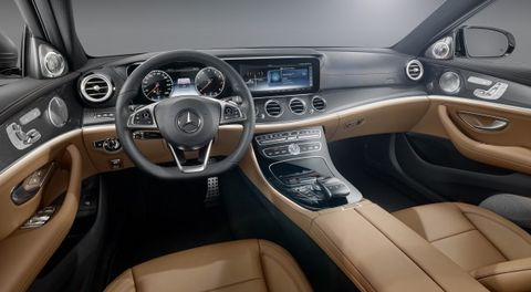benz's new infotainment interface test-fingered, well, thumbed