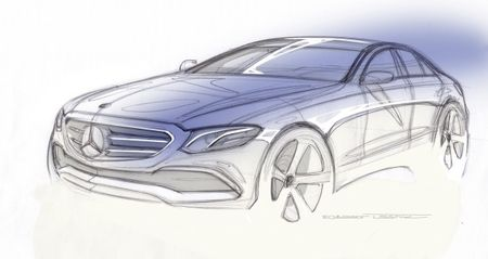 Sketchy: Mercedes-Benz Teases the New 2017 E-class
